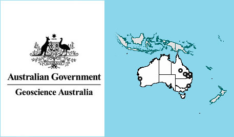 Australian government mining map - geosciences mining map