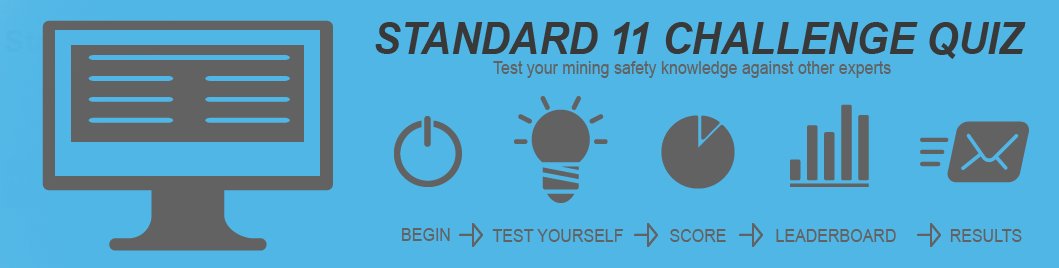 iMINCO standard 11 challenge quiz. Test your mining knowledge