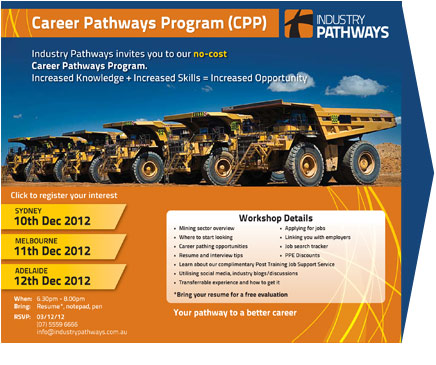 Career Pathways Program Booking Form