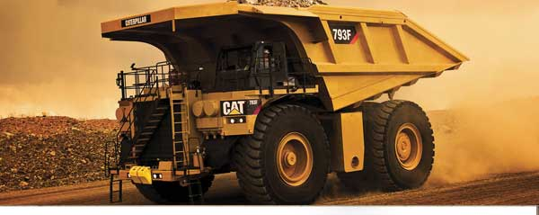 Caterpillar Haul truck 793