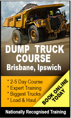 Find out about the Dump Truck Training course in Brisbane