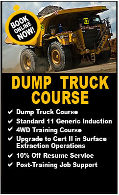 Dump Truck Course-  Dump Truck Course with iMINCO