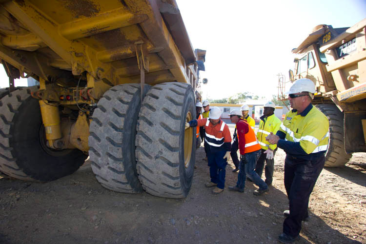 Haul truck training course Brisbane