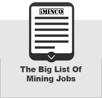 A list of mining jobs