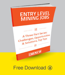 how to get entry level mining careers