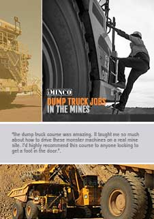 dump truck jobs, manuals and how to get started as a haul truck driver