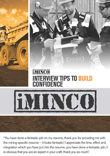ebook interview tips for mining jobs australia - iMINCO
