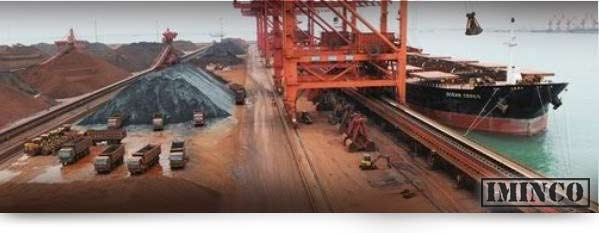 Iron ore ship loading - iMINCO Mining Information