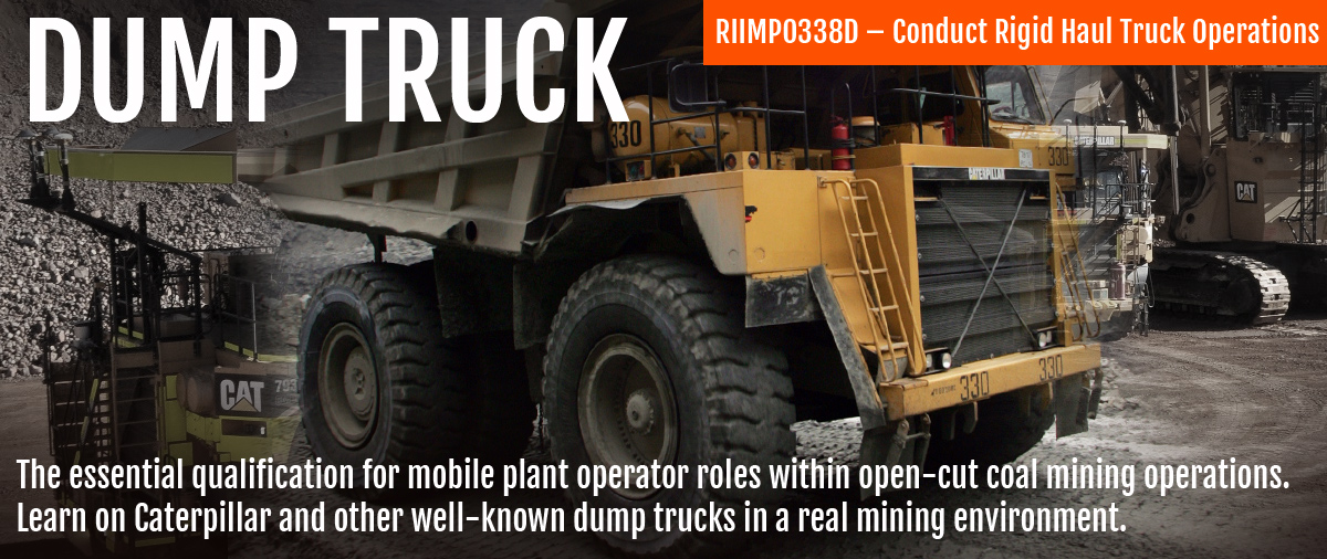 Dump Truck Training Course | Expert training on BIG dump trucks