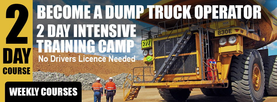 iMINCO - Dump truck training
