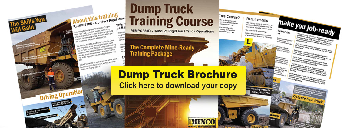 iMINCO Dump Truck Training Course Overview