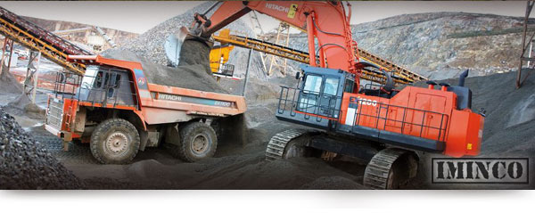 Haul truck loading on a coal mine. Mining News - iMINCO Mining Information