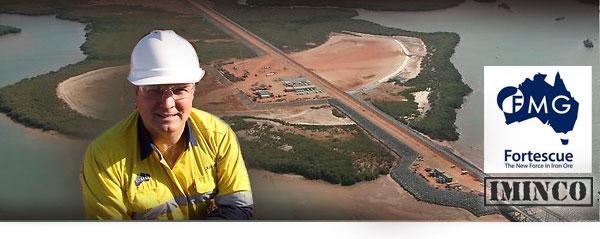 iMINCO Fortescue Metals - WA Jobs for Port Hedland