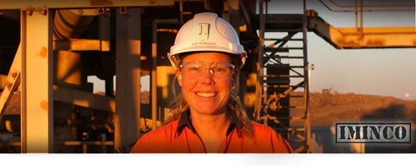 iMINCO Women in Mining - Julie's amazing career