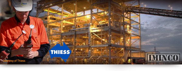 Thiess Jobs CSG iMINCO