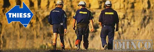 Thiess Jobs - Bowen Basin $550 Million Contract - iMINCO
