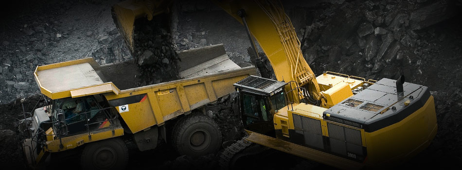 excavator training course for mining jobs Queensland - iMINCO mining training. Excavator mining loading CAT haul truck