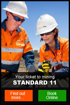Standard 11 Mining Induction course