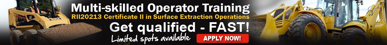 RIIMP0318D - Certificate II in Surface Extractions - Multi-skilled operator training course for mining - iMINCO