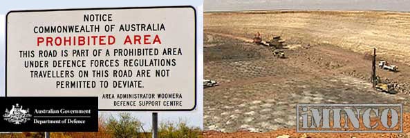 Woomera South Australia - Mining Operations - iMINCO