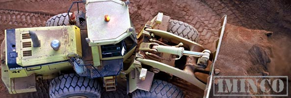 iMINCO mining news front end loader iron ore mining
