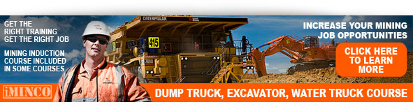 Mining jobs dump truck course Queensland