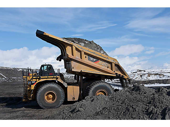 Dump Truck Operators Coal Mine site Bowen Basin Blackwater