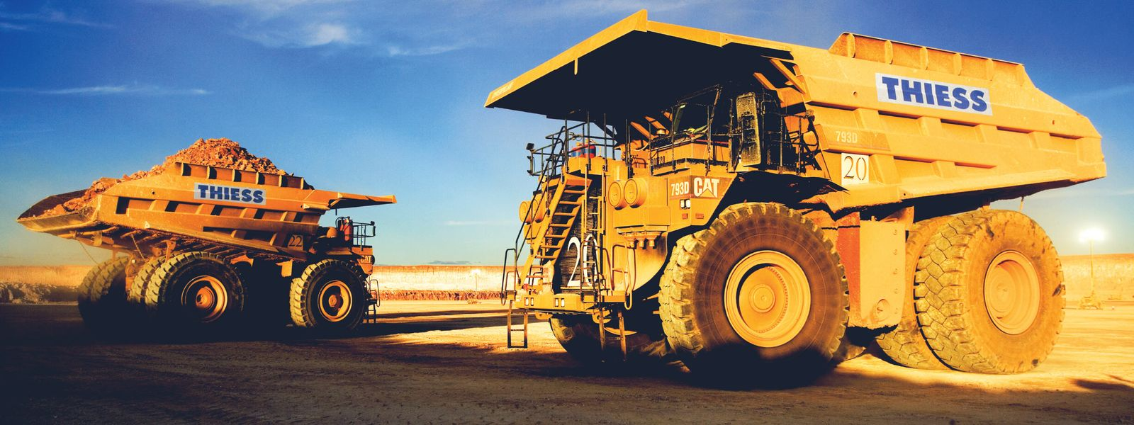 Mining Operators Open-cut Coal Mining Caval Ridge Bowen Basin