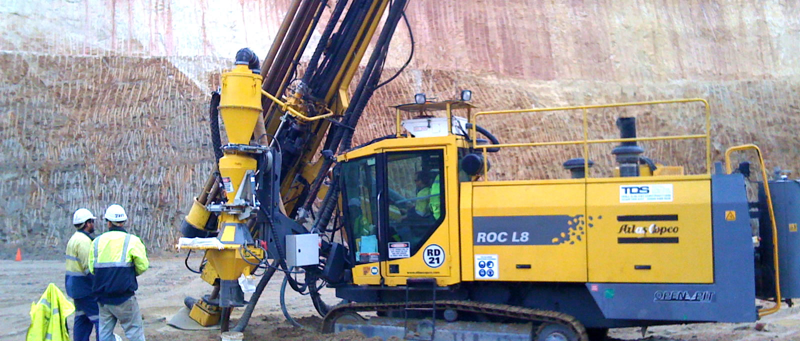 Blast Hole Drill service Mining Civil Operator Brisbane QLD