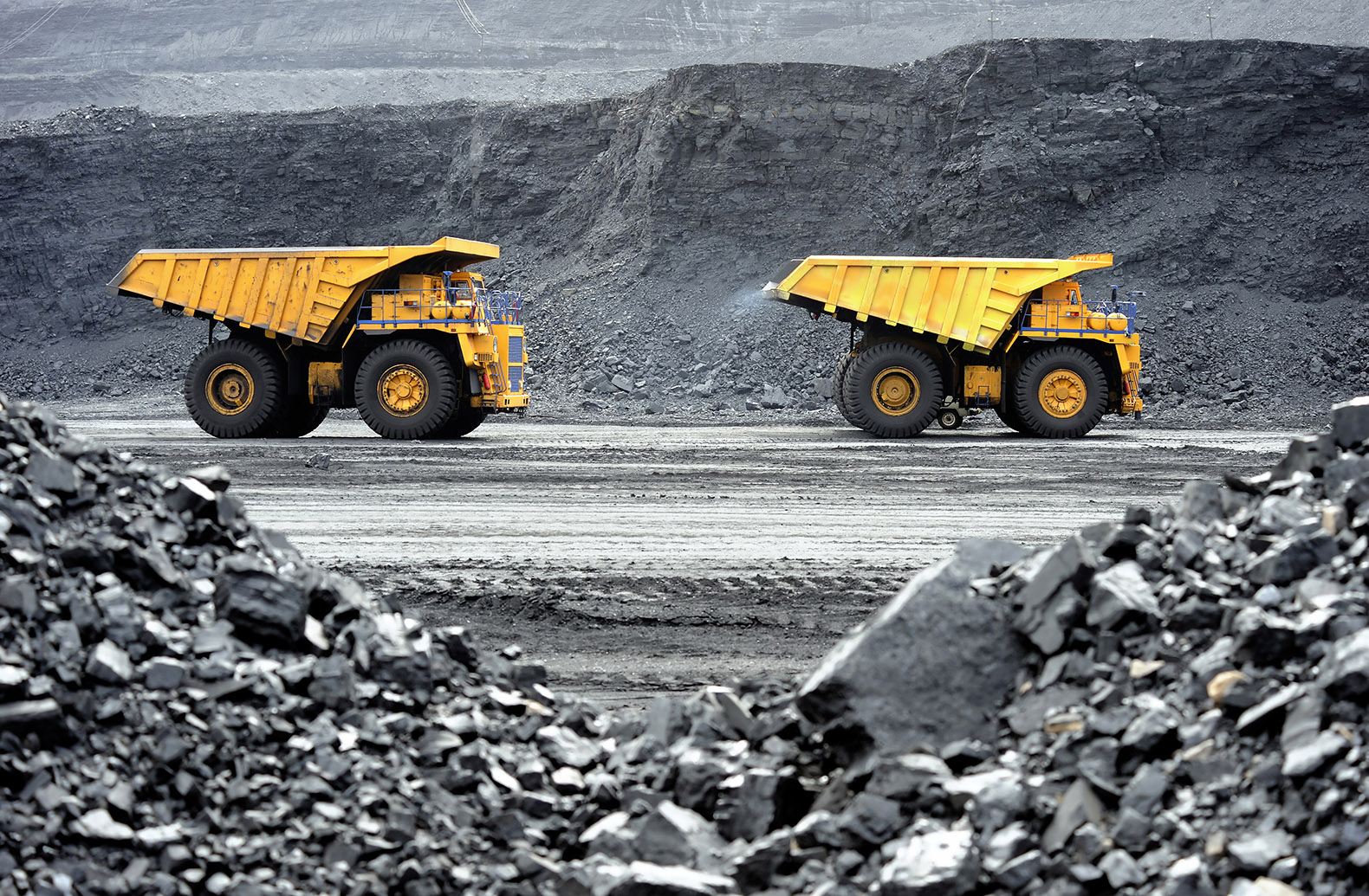 Heavy Dump Truck Operator Coal Mining Hunter Valley