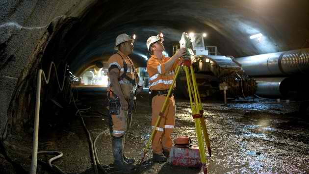 Mine Surveyor Underground Minjar Gold Brisbane QLD