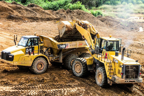 Front End Loader Dump Truck Operator Quarry Harlaxton QLD