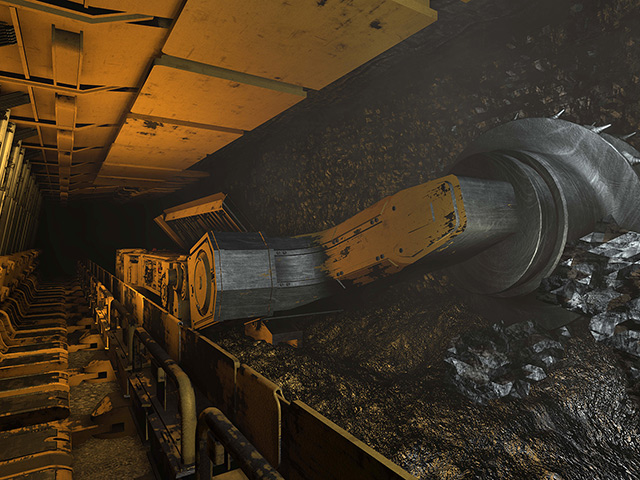 Longwall Move Diesel Fitter Underground Coal Machinery Coalfields