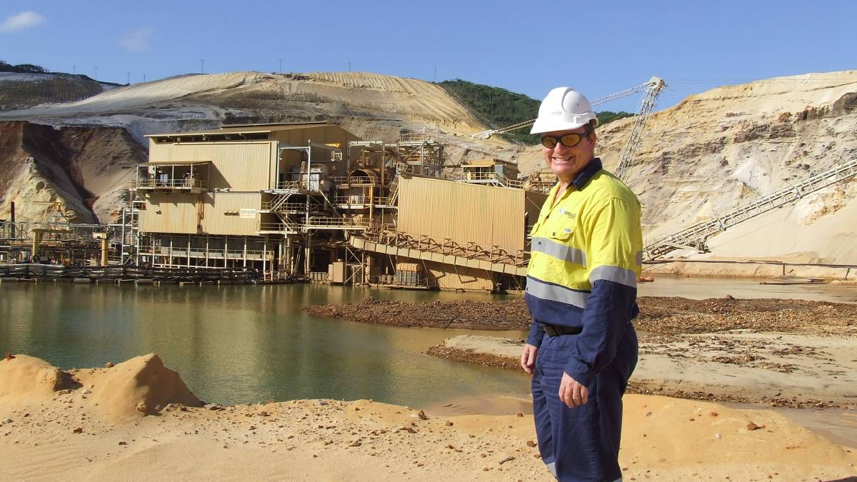 Operations Manager Sibelco mines Newcastle NSW