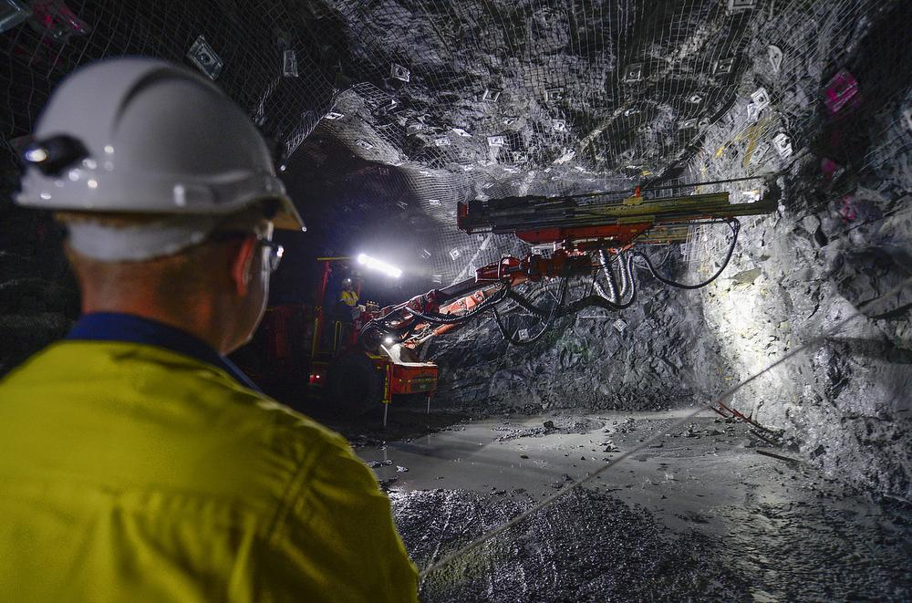 Anglo American Grasstree Mine Underground Operation QLD