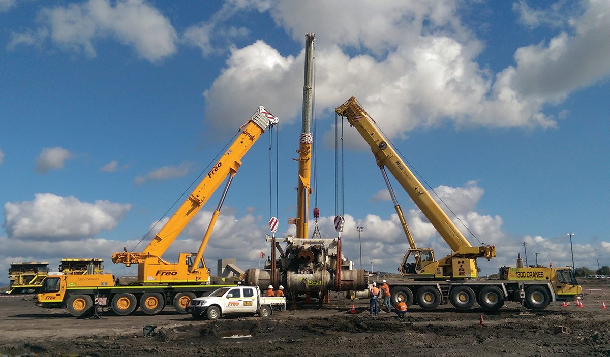 Experience Riggers Cranes BMC Coal Mining Sites QLD