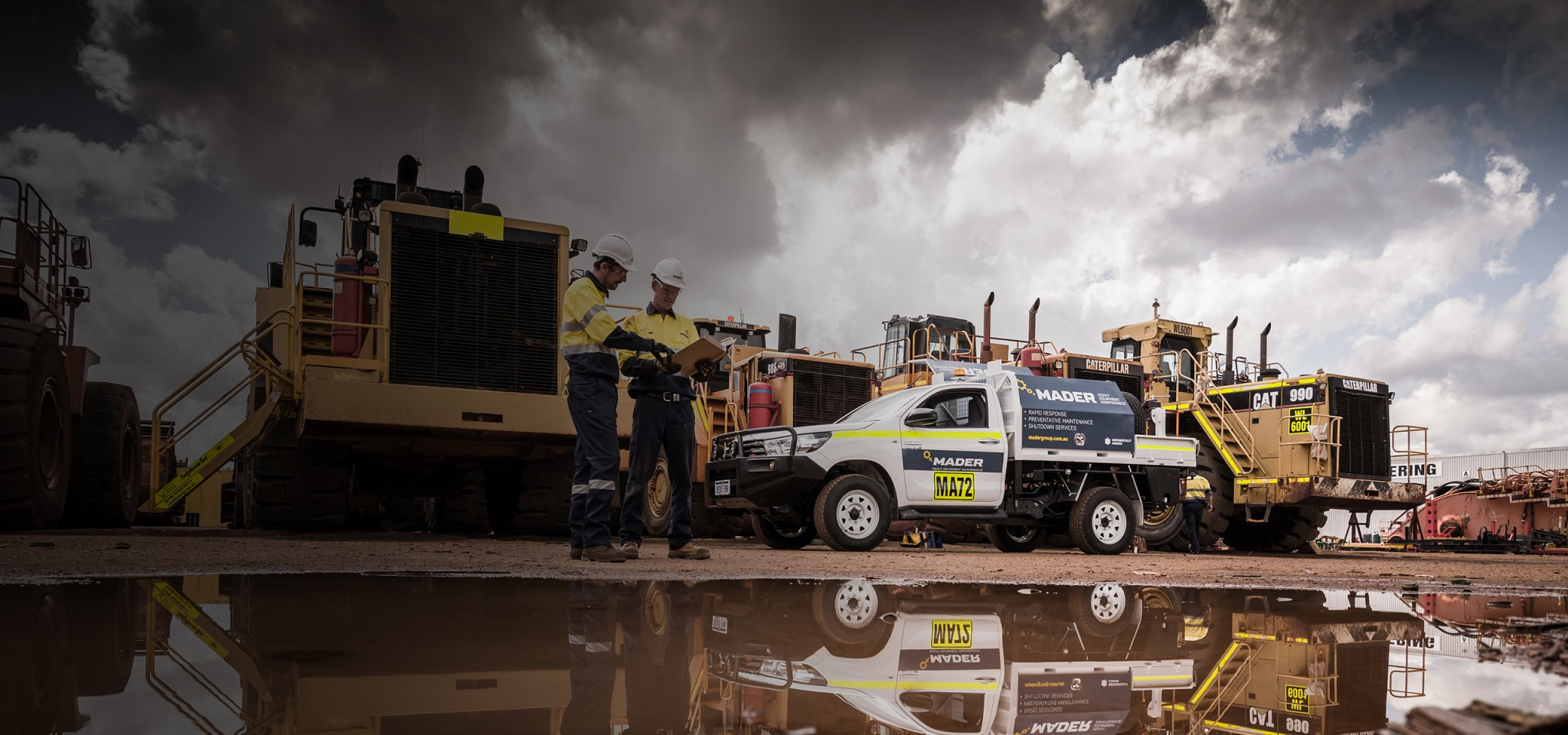 Heavy Duty Diesel Mechanic Mining Maintenance Mader Queensland-iMINCO.net Mining Information