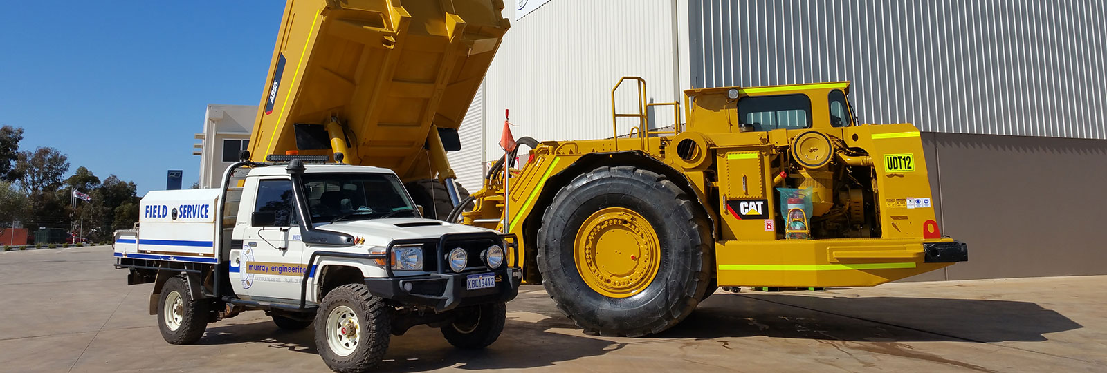 Heavy Duty Mobile Plant Fitters Olympic Dam Brisbane QLD