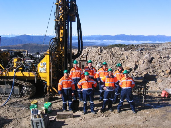 Drillers Offsider Gold Fields FIFO Perth WA