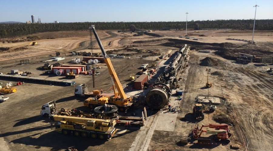 Supervisor Clermont Coal Mine Load Dump Truck QLD-iMINCO.net Mining Information