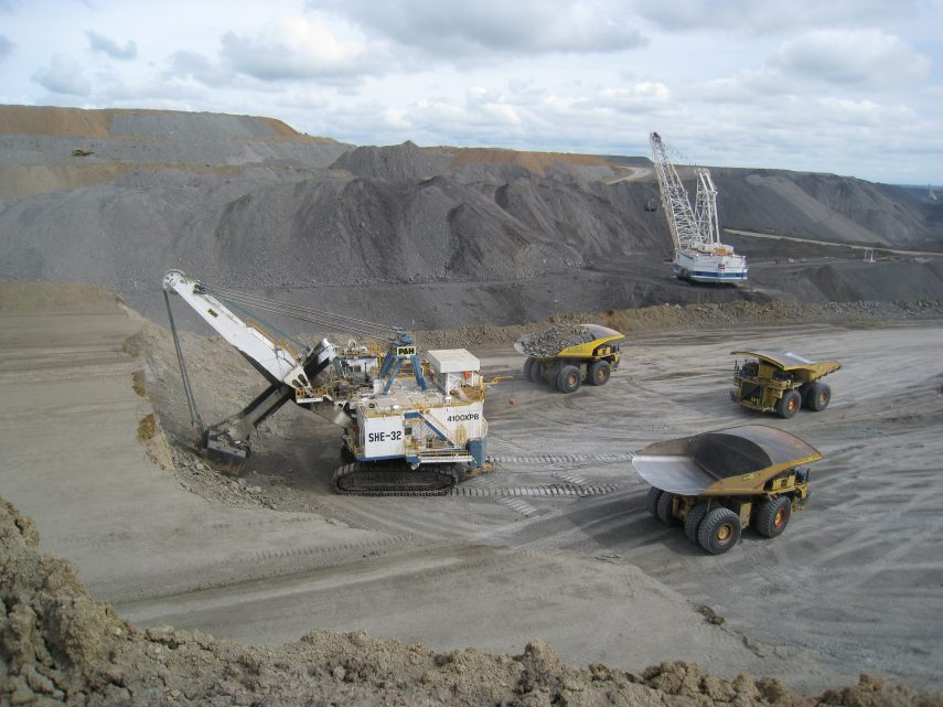 Dump Truck Operators Major Coal Mining Bowen Basin