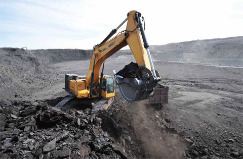 Bobcat Excavator Operator Coal Mine Job Brisbane