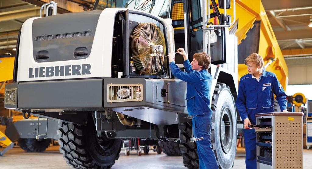Field Service Mechanical Fitters Maintenance Liebherr Australia