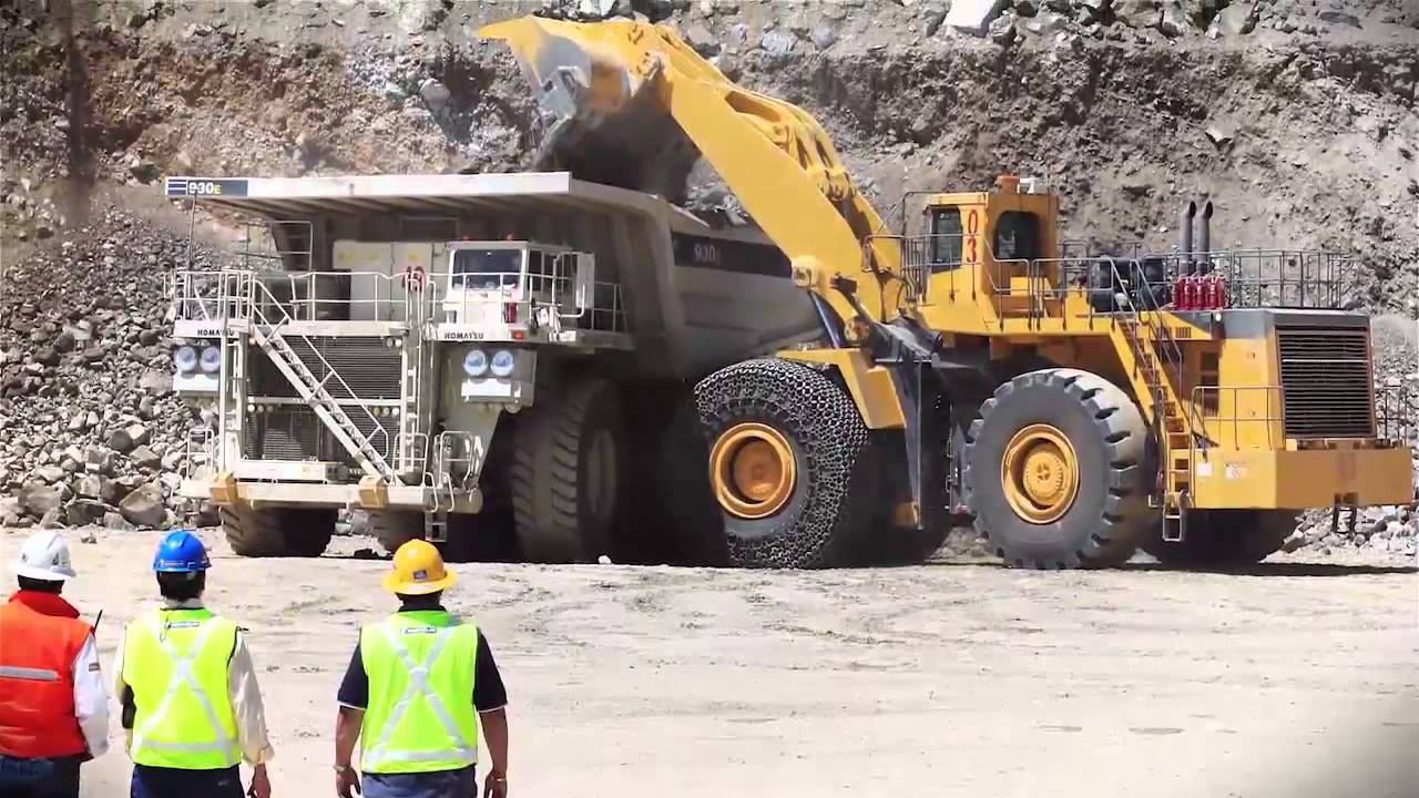 Multiple Heavy Mobile Earthmover Tyre Fitters Coal Mines QLD-iMINCO.net Mining Information