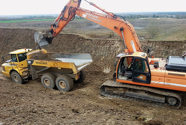 Excavator Positrack Operator Construction Induction Sites Newcastle