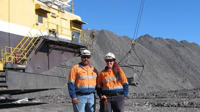 mining jobs women - first female dragline operator