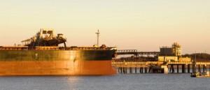 Shiploader Pouring