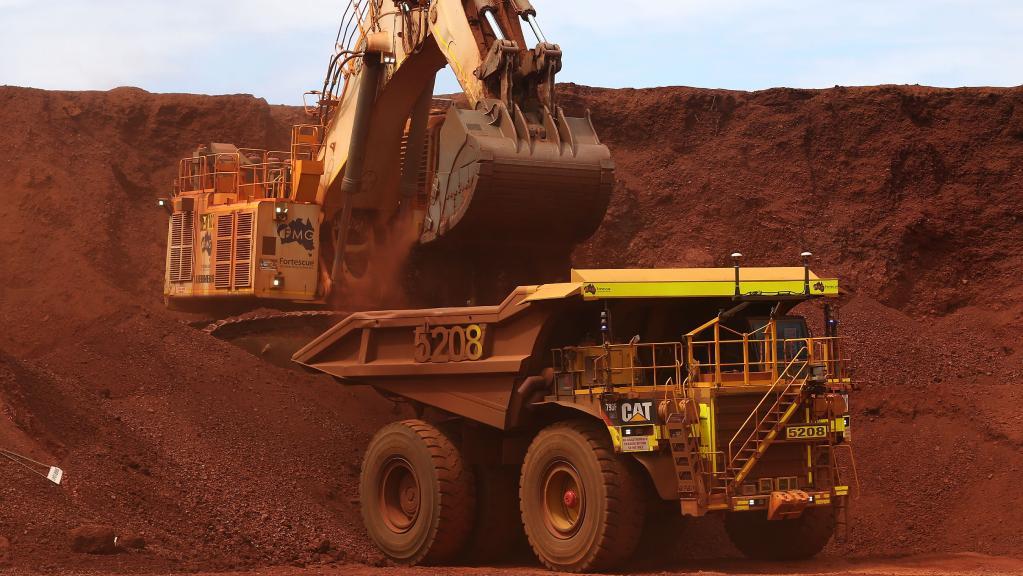Truck Amp Shovel Dozer Coal Mining Poitrel Mine Qld Iminco
